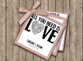 All you need is love – Tag Invitation