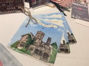 Tatty Lashes West Tower Liverpool wedding stationery